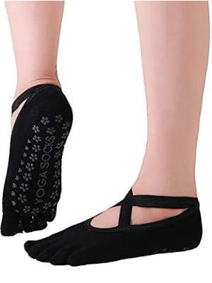 Calcetines antideslizantes para Yoga y Pilates